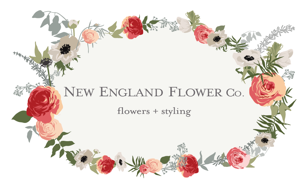 New England Flower Co logo